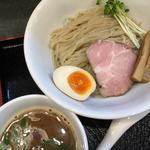 焼き秋刀魚の醤油つけ麺