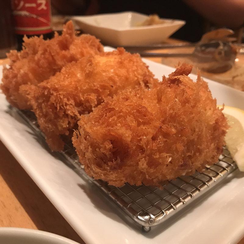 ズワイガニの海鮮クリームコロッケ