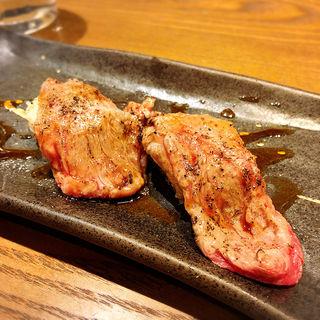 和牛トロ炙り(肉寿司 間借り)