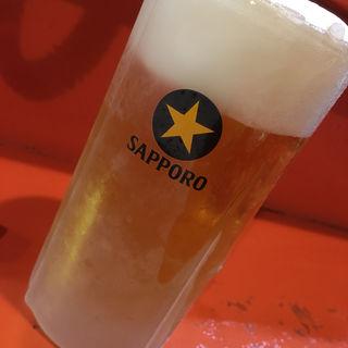 生ビール(二代目 けんのすけ  (【旧店名】けんのすけ 本店))