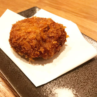 牛肉のメンチカツ(日本酒バル  炉端ぺし)