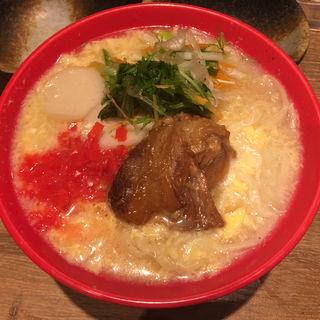 卵とじ軟骨ソーキそば(うりずん やんばる喰いな 名護市 大曽根店 )