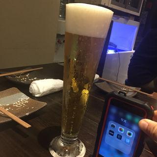 生ビール(博多 酒佳蔵)