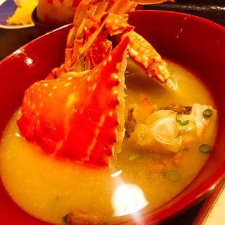 蟹汁(蒸し釜や )