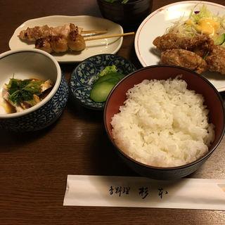 鳥定食(杉本)