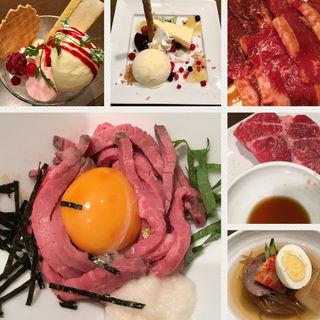 テーブルオーダーバイキング95品コース(ワンカルビ・plus +伊川谷店)