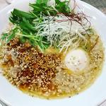 鶏白湯 辛味噌ラーメン(鶏冠 (トサカ))