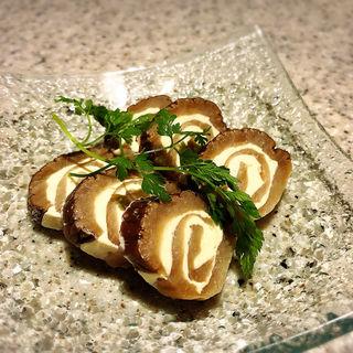 いぶりがっこクリームチーズ(串焼き もんじろう)