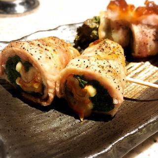 にらキムチチーズ(串焼き もんじろう)