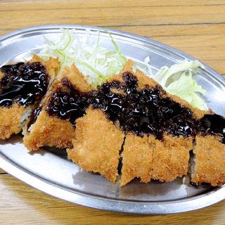 トンカツ定食(宝食堂 )
