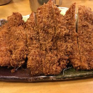 ジャンボチキンカツ定食L(パセリ )