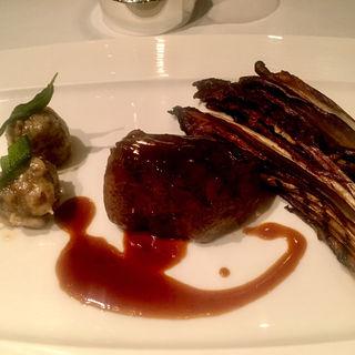 黒毛和牛サーロインステーキのソテー(カシータ (Casita))