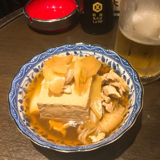 肉どうふ(大観 )
