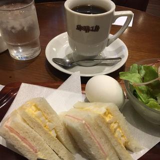 卵サンドセット(珈琲工房 )
