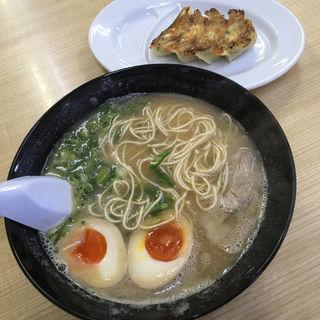 お得セットB(ラーメン・餃子4個)(長浜ナンバーワン 長浜店)