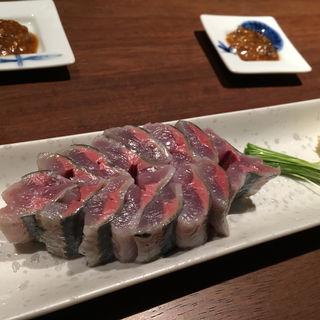 秋刀魚のお刺身(円山十六夜)