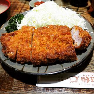 とんかつ定食(豚珍館 (とんちんかん))
