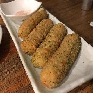 フライドモッツァレラチーズ(こば酒店)