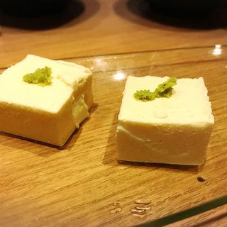 クリームチーズ豆腐(KUMAMOTODining×あざみ 中目黒店)