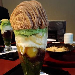 マロンパフェ(ぎをん小森)