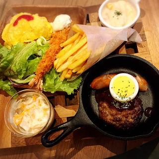 スペシャルおこさまプレート(カフェ&レストラン グリーンテーブル)