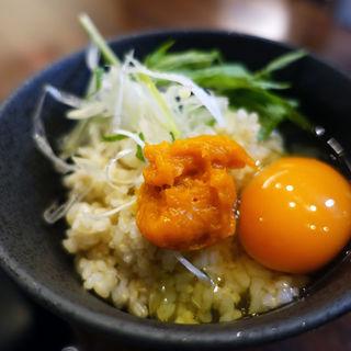 うに卵かけご飯(近松 )