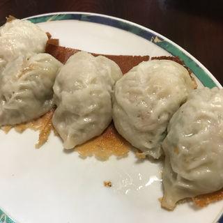 エビ入り焼餃子(中国料理 金春新館 (コンパルシンカン))