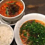 担々麺 + 汁なし担々麺 セット
