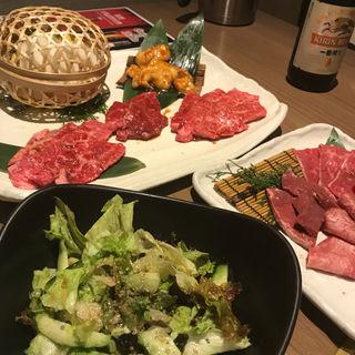 霧島セット3人前+チョレギサラダ(ビーファーズ 泉佐野店 (Beefar's))