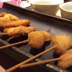 海鮮串盛り