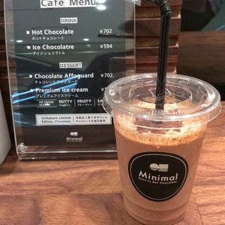 アイスショコラトル(Minimal - 東武池袋 Metro Kitchen & Store)