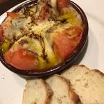 チーズとトマトのオーブン焼き