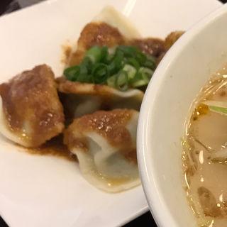 大山特製ごまダレ水餃子(らーめん たいざん 海老名SA店)