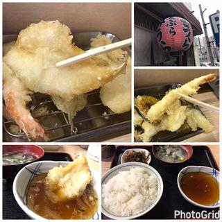 福天ぷら定食(天ぷら みうら)