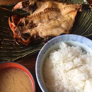 金目の干物定食(囲炉茶屋 (irorichaya))