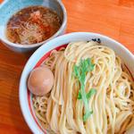 Cセット (塩つけ麺)