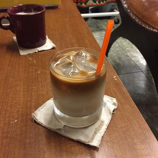アイスカフェオレ(moose coffee)