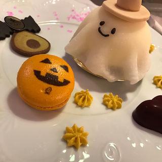 ハロウィン限定 デスパレードプレート(キューポット カフェ 本店 (Q-pot CAFE))
