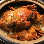 上海蟹の炊き込みご飯