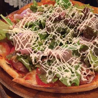バンチョピザ(ブラジリアン食堂 BANCHO 2号店 (ブラジリアンショクドウバンチョー))