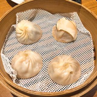 秋の小籠包3種盛り(鼎泰豊 銀座店)