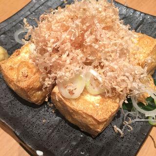 厚揚げ豆腐(真希 六本木一号店 (しんき))
