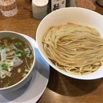 北海道産小麦「春よ恋」3種MIX麺のつけ麺
