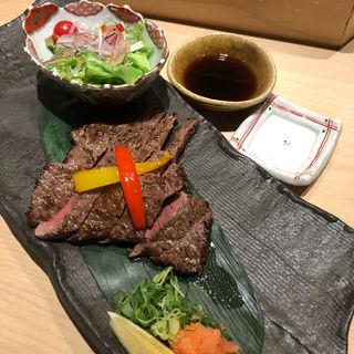 和牛ステーキぽん酢(食彩酒粋へいぞう )