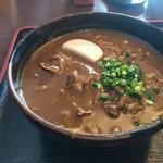 牛カレーうどん(こんぴら茶屋)