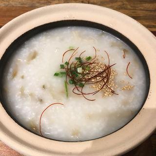 ザーサイ粥(新中国料理 海月)