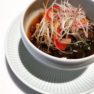 前菜 海藻の酢の物   彩食健美ランチコース