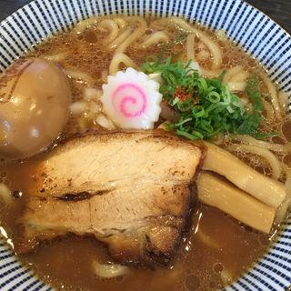 鮮魚とWスープのラーメン(まるぎん本舗 )
