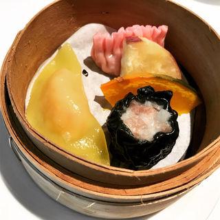 点心いろいろ   彩食健美ランチコース  (中国料理 桃李 ホテル日航大阪 )