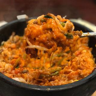 チーズ明太ビビンバ